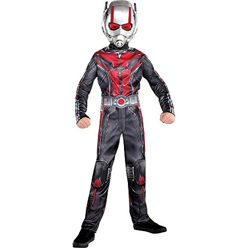 Costumes USA Ant-Man and the Wasp Ant-Man Costume for Boys, Size Large, Includes a Black and Red Jumpsuit and a Mask