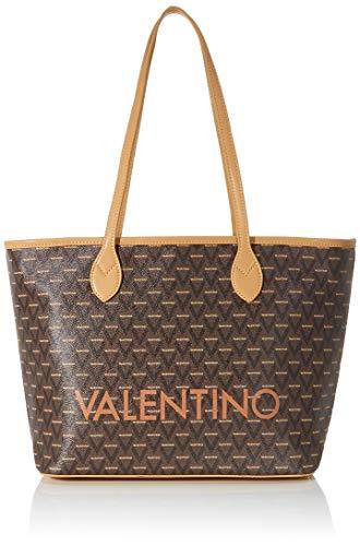 Mario Valentino Valentino by Damen Liuto Shoulder Bags, Braun (Cuoio Multicolor), 15x29x39 cm