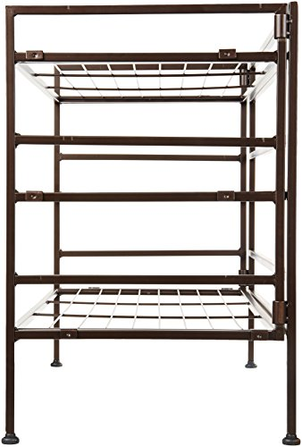Amazon Basics 9-Pair Shoe Rack Organizer