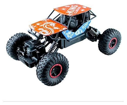 SXLCKJ Modelo de Juguete de Control Remoto con tracción en Las Cuatro Ruedas, Coche de Control Remoto Todoterreno para niños, Coche de Escalada de aleación 1/16, Bigfoot Rock c (Coche Inteligente)