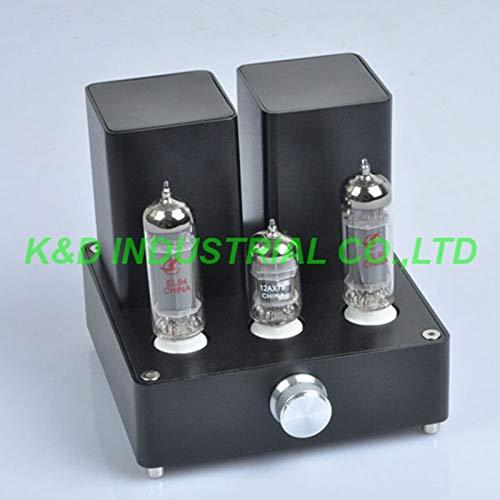 Jammas 1pc Black Mini Vacuum Tube AMP Audio Amplifier APPJ EL84 12AX7B...