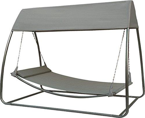 SORARA Hamac (avec Moustiquaire) (UV 50+) | 45 KG 2 Personnes Mobilier d'Extérieur pour Jardin/Cour Arrière