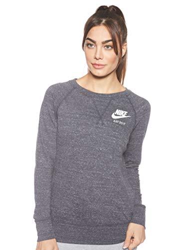 Nike Damen Gym Vintage Crew Trainingspullover, anthracite/Sail, XS