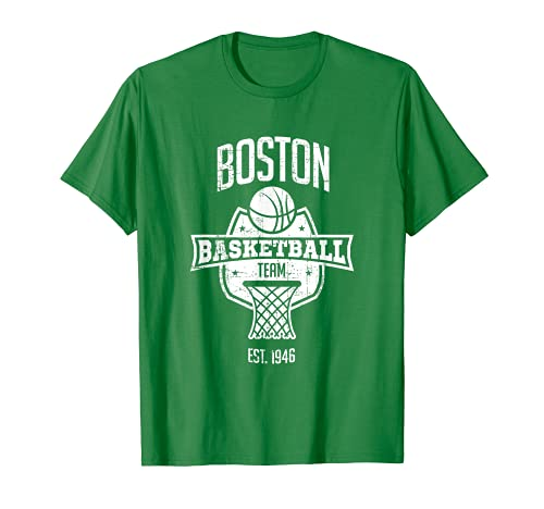 Distressed Celtic Retro Party Tailgate Basketball Fan Gift T-Shirt