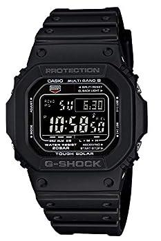 Casio Men s GW-M5610-1BJF G-Shock Solar Digital Multi Band 6 Black Watch