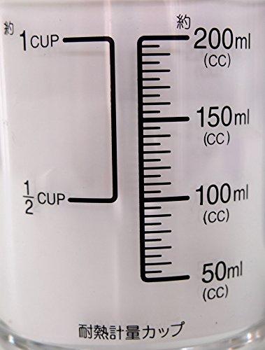 パール金属日本製耐熱計量カップ200ml食洗機対応BLACKSC-8621