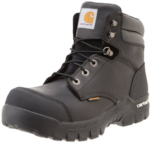 Carhartt 6' Rugged Flex Waterproof Men's Toe Breathable Composite Leather Work Boot Oil Black Tanned Shoe accessory