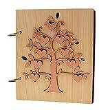 Giftgarden Album Photo 10x15 con 120 Tasche in Pagine Nere - Albero Genealogico Album con ...