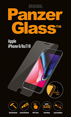 PanzerGlass Displayschutzglas (Anti-Fingerprint); passend für Apple iPhone 6/6S/7, Klar