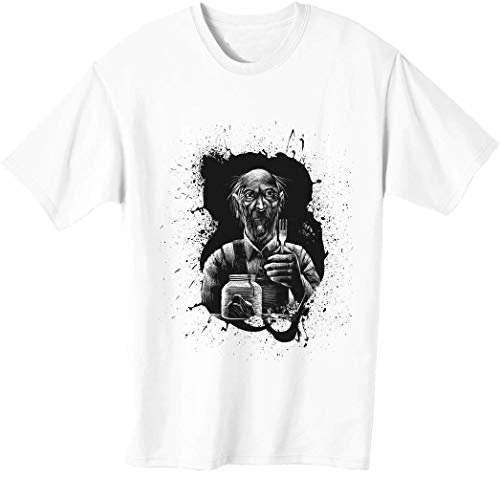 Old Man is Ready to Eat - Camiseta para hombre