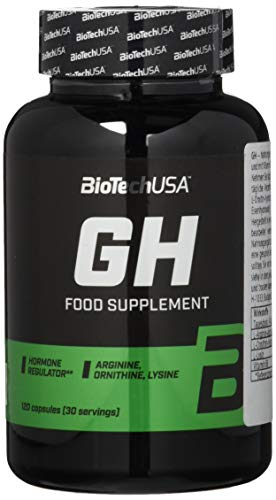 Biotech Gh Hormone Regulator Potenciador de la Testosterona - 120 Cápsulas