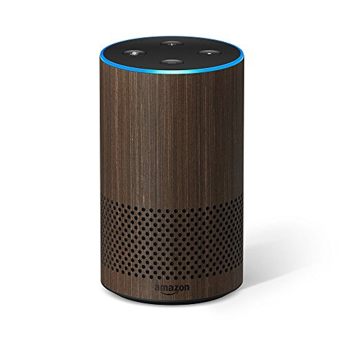 Das neue Amazon Echo (2. Generation), Nuss Optik