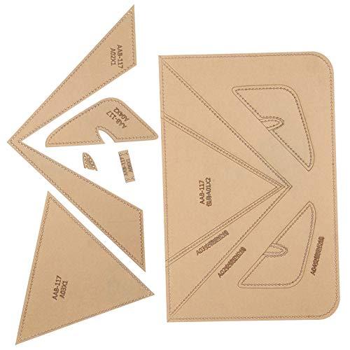 Acryl-Modell-Set, transparent, tragbar, langlebig, kurz, für die Handtasche