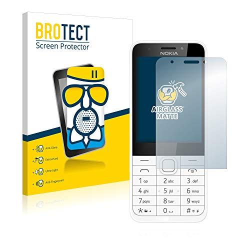 BROTECT Entspiegelungs-Panzerglasfolie kompatibel mit Nokia 230 - Anti-Reflex Panzerglas Schutz-Folie Matt