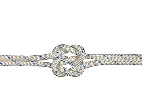 Schot-Tauwerk-Allroundleine 8mm Kennung blau 25m Schot,Seil,Tau,Tauwerk,Festmacher,Ankerleine