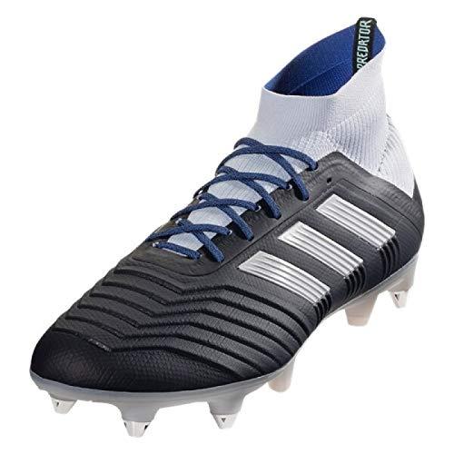 adidas Predator 18.1 SG, Zapatillas de Fútbol Mujer, Azul (Legink/Silvmt/Aerblu Legink/Silvmt/Aerblu), 38 2/3 EU