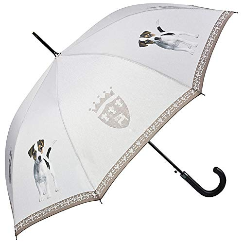 VON LILIENFELD Regenschirm Jack Russell Terrier Stabil Welpe Auf-Automatik Damen Herren Hund
