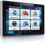 """Rand McNally - OverDryve 7 Pro Truck Navigation with 7"""" Display, Bluetooth, SiriusXM, and Free Lifetime Maps"""