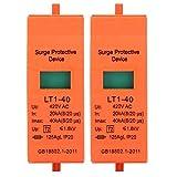 Limitatore di sovratensione, 2PCS Dispositivo di protezione da sovratensione Dispositivo di protezione da sovratensione 420V CA.(40KA)
