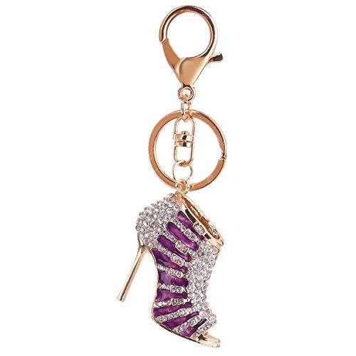 Demarkt Porte-clés Pendentif Forme de Chaussure à Talon Haut Créatif Cadeau Décoration