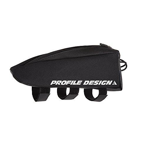 Profile Design E- Pack, Portaoggetti Aerodinamico da Fissare tra Attacco Manubrio Ed Il Tubo Orizzontale Unisex – Adulto, Bianco, M