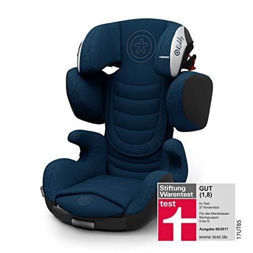 Kiddy Cruiserfix 3   Autokindersitz (Gruppe 2/3) (ca. 3 Jahre bis 12 Jahre) (ca. 15kg - 36kg) mit Isofix   Kollektion 2019   Indiego Blue