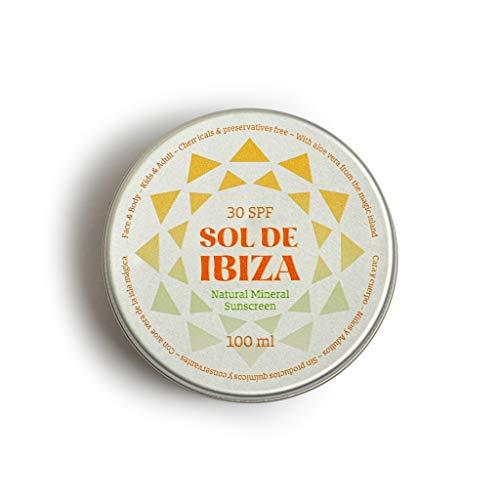 Sol De Ibiza Plastic Free Crema - Protector Solar Mineral Natural SPF30