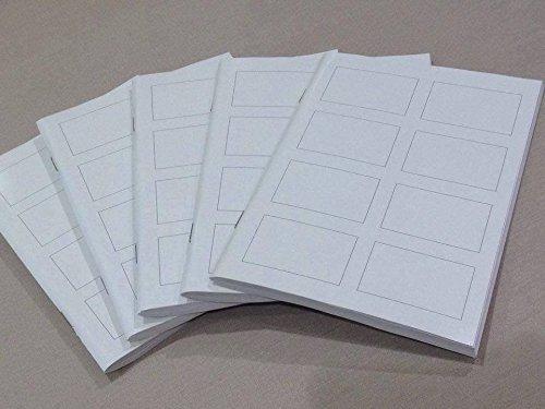 無印良品 再生紙週刊誌4コマノート・ミニ A5・88枚 5冊セット