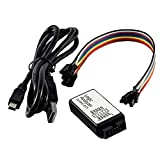 Logic Analyzer 24M 8CH Channels with Buffer Support 1.1.16 Compatible with Arduino Including E-Book Black