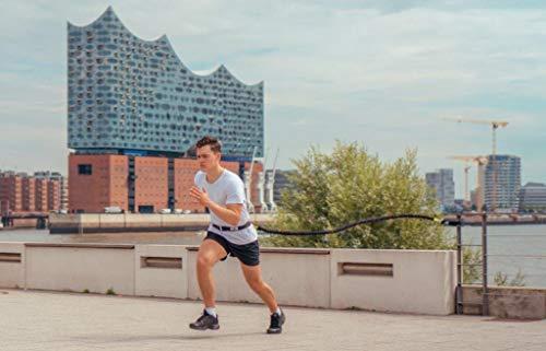 BodyCROSS Sprint Trainer | bis zu 40kg Zugkraft | Schnellkrafttrainer | Studioqualität | Made in Germany | 3 Jahre Garantie (Basic 20kg)