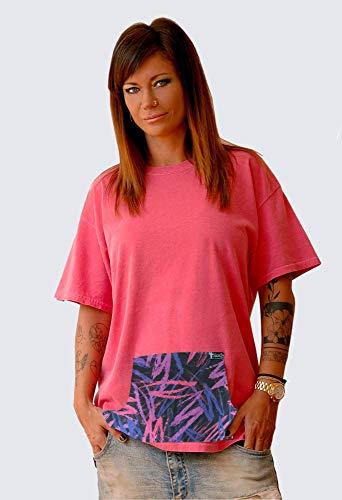 Camiseta estilo vintage cosida a mano