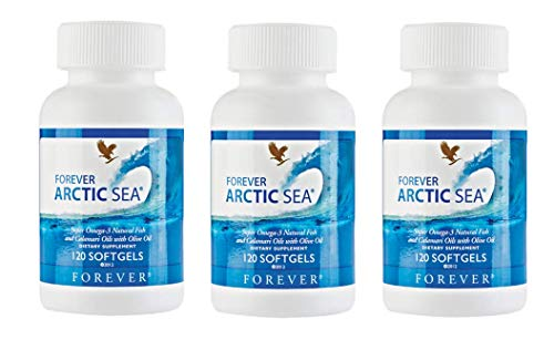 Forever Living Arctic Sea, Pack of 3 (360 softgels)