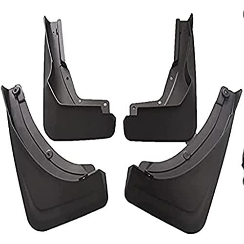 ZHFF 4 Pcs Coche ABS Salpicaduras Guardabarros, para Mercedes Benz GLS 450 GLS450 X167 2020 Auto ProteccióN Cubierta Delantero Trasero Mudguards Stylling Accesorios