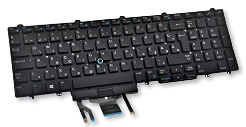 Dell Latitude E5550 E5570 5580 5590, Precision 3510 3520 3530 7510 7520 7710 7720 Hungarian Backlit Keyboard 5DRWM