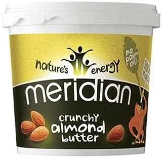 Meridian Almond Butter - Crunchy 1kg