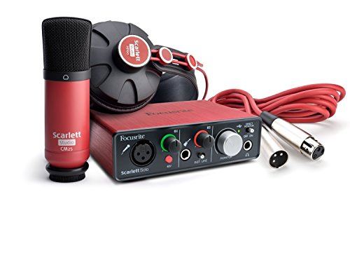 Focusrite Scarlett Solo Compact (1st GENERATION) USB Audio Interface