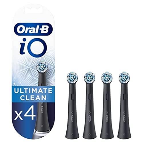 Oral-B iO Ultimate Clean - Testine di ricambio nere - Confezione da...