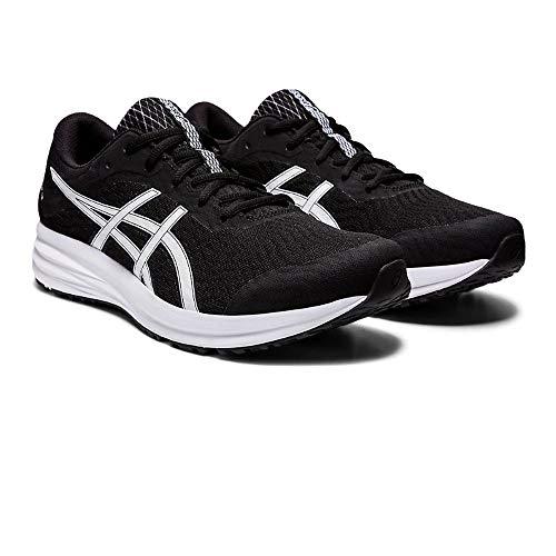 Asics Patriot 12, Sneaker Mens, Black/White, 45 EU