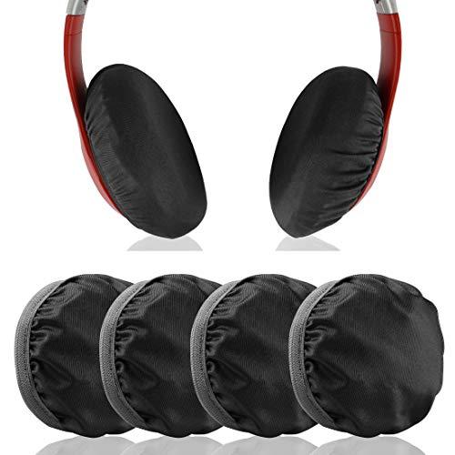 Geekria 2 pares Funda para auriculares (tela flexible, elástica, lavable) Se adapta a auriculares de 3.14 a 4.33 pulgadas en la oreja, bueno para gimnasio, entrenamiento