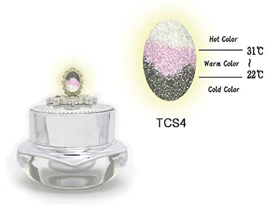 遺産音声熟練したKENZICO (ケンジコ) Triple Sugar Gel プロ用5g 【TCS4】 3つの色に変わる夜光ジェル トリプルシュガージェル