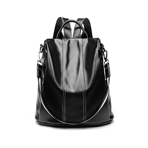Backpack Women's New Fashion Leather Wild Cowhide Soft Leather Anti-Theft Ladies Backpack