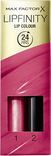 Max Factor Lipfinity 24 Stay Cheerful, 1er Pack (2 x 2 ml)