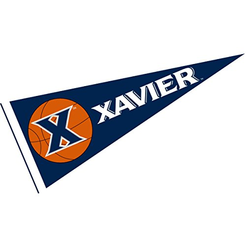 College Flags & Banners Co. Xavier University Basketball Pennant