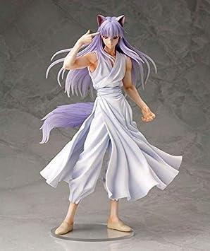 YUSHIJIA Charakter Modell Spielzeug Geschenke Yuyu Hakusho Figur Kurama Demon Fuchs Figur Anime Figure Action Figure PVC-Statue Color : Default