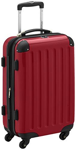 Hauptstadtkoffer Alex Trolley rígido con cierre TSA, 42 litros, 55 x 35 x 20 cm, Rojo