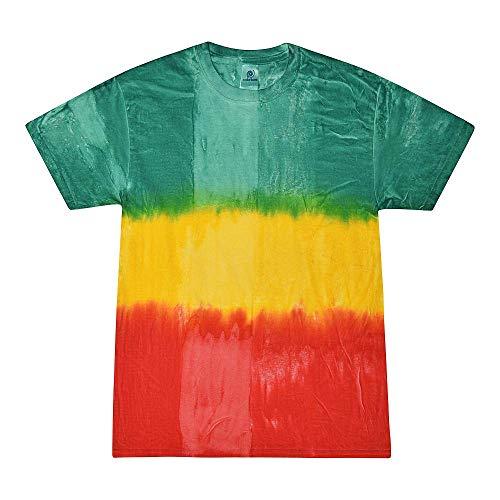 Colortone Tie Dye T-Shirt 2X Montego Bay