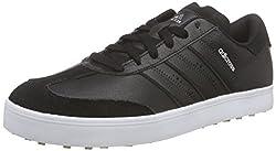 adidas Men's Adicross V Golf Shoes, Black (core Black / Core Black / White), 44 2/3 EU