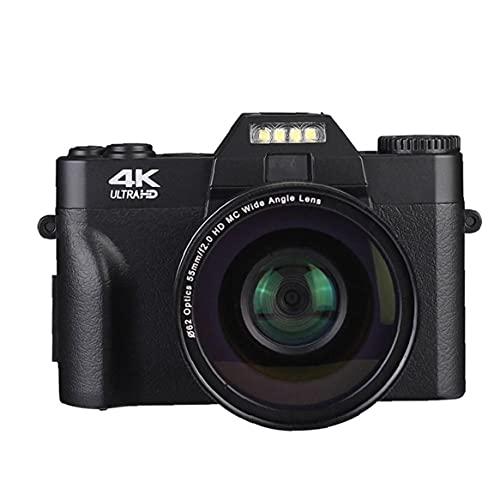 YepYes Cámara de vídeo Digital Vlogging videocámara Digital para Principiantes 48,0 Fotografía...