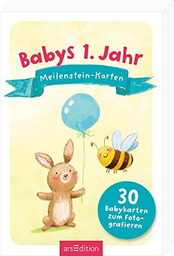 Mein 1 Kalender ®Baby Meilenstein Karten30 Stk.