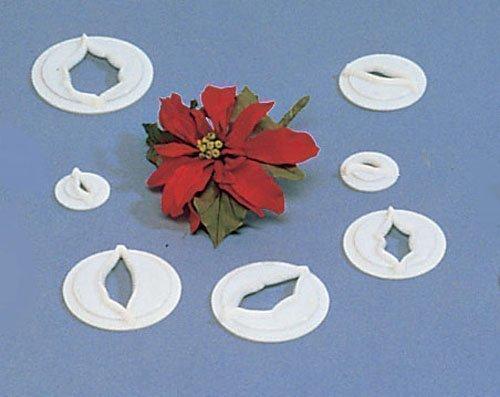 FMM Sugarcraft Flower Cutter Set - Poinsettia